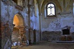 Kyrkan fördärvar St Barbora i västra Czechia Royaltyfria Bilder
