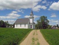 kyrkan görar till kung landning Arkivfoton