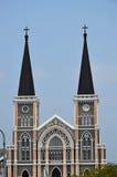 Kyrkan i Chunthaburi Royaltyfri Foto