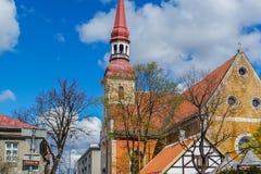 Kyrkan i Estland arkivfoton