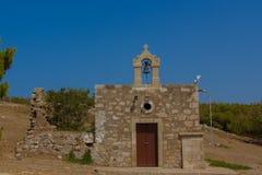 Kyrkan i Fortezza av Rethymno Royaltyfria Foton