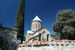 Kyrkan i Georgia Arkivfoton