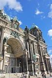 Kyrkan i hjorten av Berlin Royaltyfri Bild