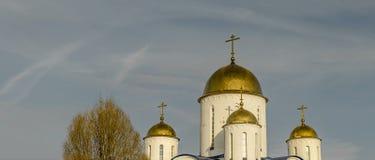 Kyrkan i namnet av Orthodoxy Royaltyfria Foton