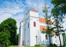 Kyrkan i Novogrudok Royaltyfri Fotografi