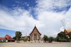 Kyrkan i tempel på Sattahip, Royaltyfria Bilder