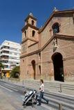 Kyrkan i Torrevieja Fotografering för Bildbyråer