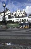 Kyrkan och kloster av Santo Antonio i Largo Carioca, Rio de Janeiro de Arkivfoton