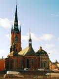 kyrkan riddarholms στοκ φωτογραφία με δικαίωμα ελεύθερης χρήσης