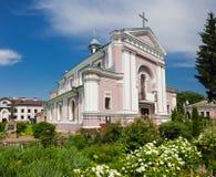 Kyrkan som att gifta sig i Honore de Balzac Royaltyfria Foton