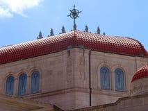 Kyrkan taklägger Royaltyfri Foto