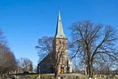 kyrkan trimmar Arkivfoton