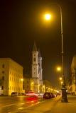 kyrklig berömd ludwigskirche munich för bavaria Royaltyfri Bild