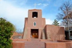 kyrklig beskickning nya santa för fe mexico Royaltyfri Bild