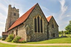 kyrklig bygdengelskaessex Royaltyfri Bild