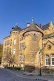 Kyrklig byggnad i den historiska mitten av Goslar Royaltyfri Foto