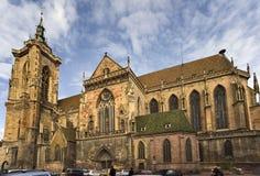 kyrklig college- colmar martin saint Royaltyfria Foton
