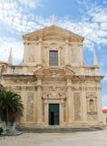 kyrklig croatia dubrovnik ignatiusst Fotografering för Bildbyråer
