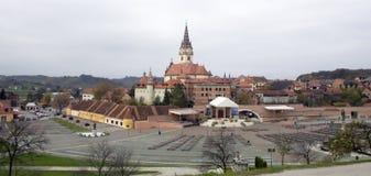 kyrklig croatia för bistrica marija Arkivbild