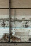 kyrklig croatia grunge inom tagna väggen för blixt den naturliga gammala bilden var Arkivfoton