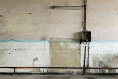 kyrklig croatia grunge inom tagna väggen för blixt den naturliga gammala bilden var Arkivbilder
