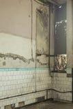 kyrklig croatia grunge inom tagna väggen för blixt den naturliga gammala bilden var Arkivfoto