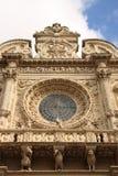 kyrklig croceitaly lecce santa Royaltyfria Bilder