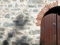kyrklig dörr royaltyfria foton