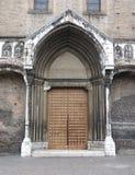 kyrklig dörr Arkivfoton