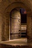 Kyrklig dörr Royaltyfri Bild