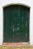 Kyrklig dörr i Baflo Royaltyfri Bild