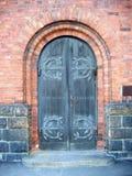 kyrklig dörr till royaltyfria foton
