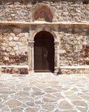 kyrklig dörrgrek för byzantine arkivfoto