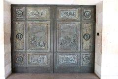 kyrklig dörringångsmultiplikation Arkivfoton