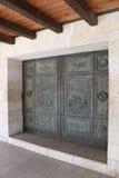 kyrklig dörringångsmultiplikation Arkivbilder