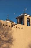 kyrklig de francisco för asis beskickning san Arkivfoto
