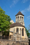 kyrklig de montmartre paris pierre saint Royaltyfria Foton
