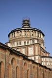 kyrklig dellegrazie maria milan santa Royaltyfri Foto