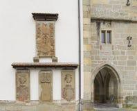 Kyrklig detalj i Gaildorf arkivfoto
