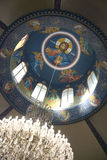 kyrklig detaljgrek Royaltyfri Bild