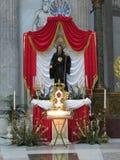 kyrklig di francesco paola san naples italy Royaltyfri Bild