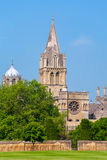 Kyrklig domkyrka för Kristus. Oxford UK Arkivfoton