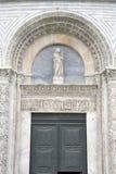 Kyrklig dopkapell för domkyrka i Pisa; Italien Royaltyfria Bilder