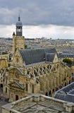 kyrklig du mont paris sainttienne Arkivbilder