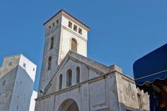kyrklig el-jadida morocco för antagande fotografering för bildbyråer