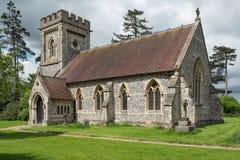 kyrklig engelsk församling Royaltyfri Fotografi