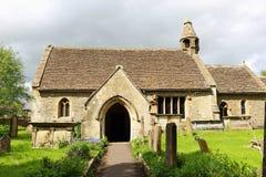 kyrklig engelsk tornby Royaltyfria Bilder