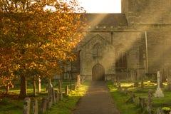 kyrklig england olney Royaltyfri Fotografi