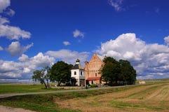 kyrklig fästning Arkivbild