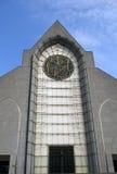 kyrklig facade historiska lille Royaltyfria Foton